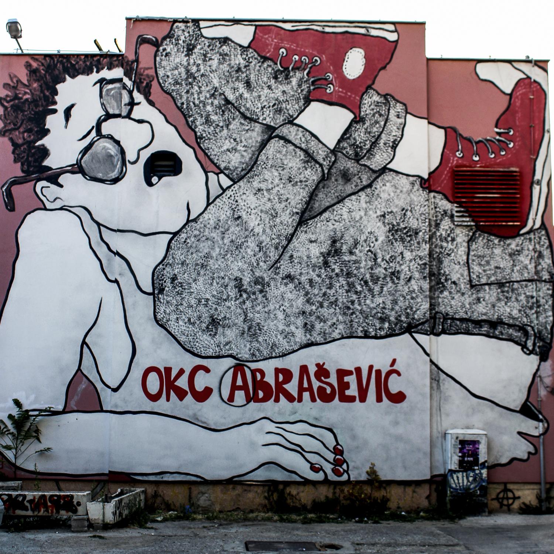 Facade Abrasevic - Mostar